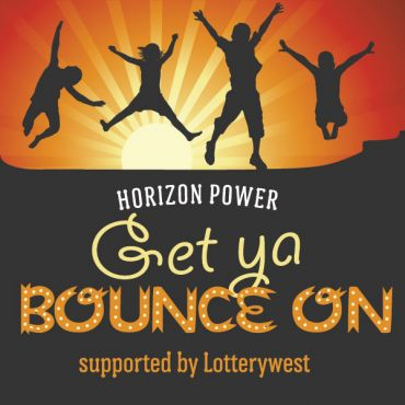 Horizon Power Get Ya Bounce On supported by Lotterywest